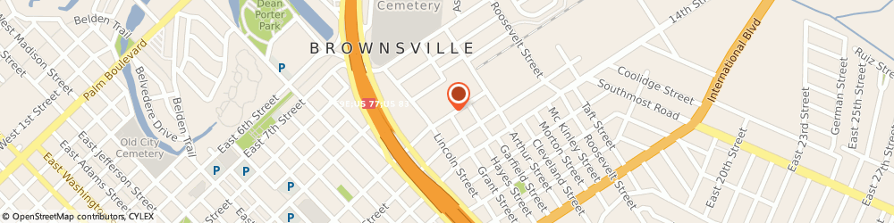 Route/map/directions to Brownsville Lithographing, 78521 Brownsville, 2065 EAST 12TH STREET