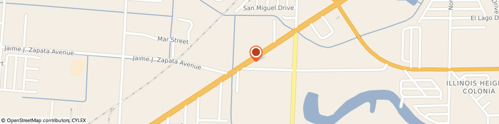 Route/map/directions to Franks Auto Parts, 78521 Brownsville, 6934 PADRE ISLAND HWY