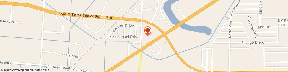 Route/map/directions to Sais Commercial Systems Inc, 78521 Brownsville, 2200 N MINNESOTA AVE