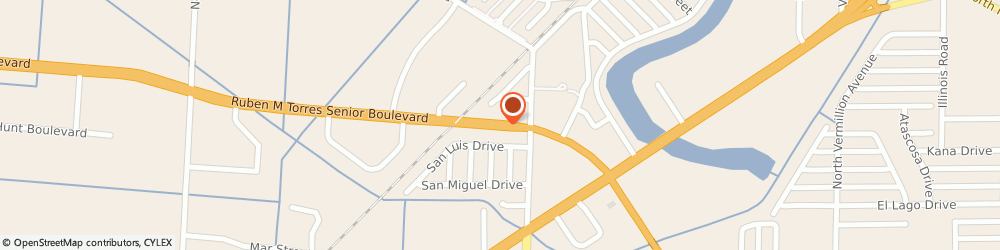Route/map/directions to D M S & MACHINING, 78526 Brownsville, 5560 E RUBEN M TORRES BLVD