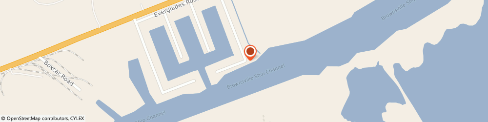 Route/map/directions to Motas Refrigeration, 78521 Brownsville, 3810 Gator Ct