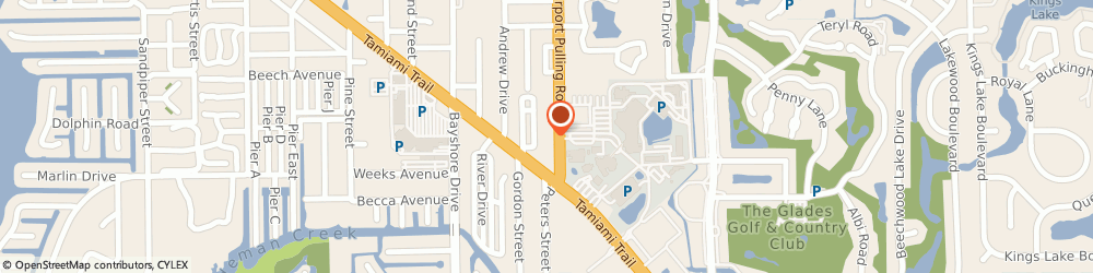 Route/map/directions to Law Office of Sam J. Saad III, 34112 Naples, 2670 Airport Road South