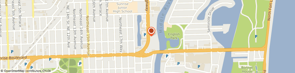 Route/map/directions to Beltone Hearing Aid Ctr, 33304 Fort Lauderdale, 1109 N FEDERAL HWY