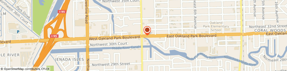 Route/map/directions to Silidker Martin e Dr Optometrist, 33334 Oakland Park, 79 EAST  BOULEVARD