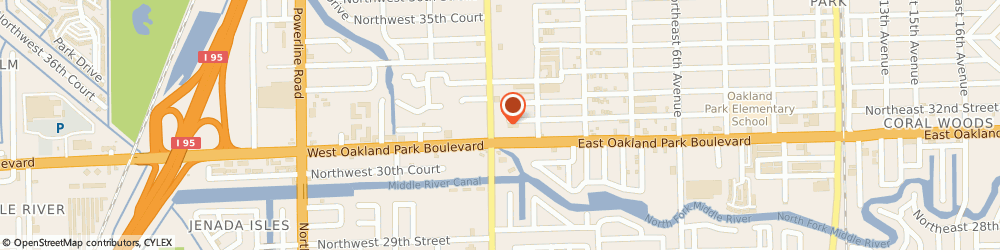 Route/map/directions to U-Haul Co., 33309 Oakland Park, 3100 N ANDREWS AVE