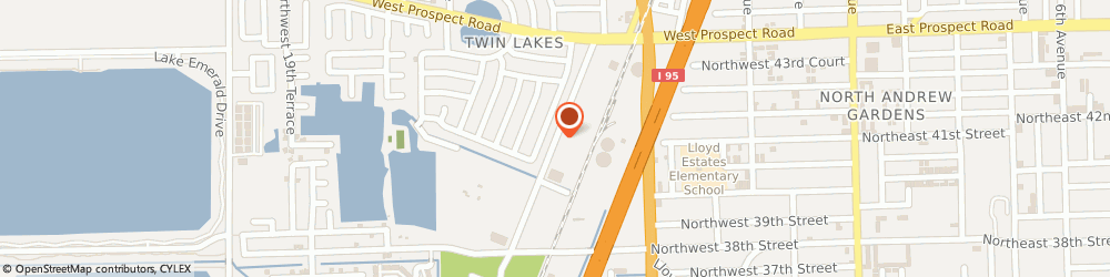 Route/map/directions to LL Optik Masters, 33309 Fort Lauderdale, 1024 NW 10th Ave