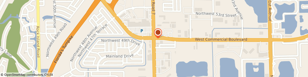Route/map/directions to Hanger Prosthetics & Orthotics, 33309 Fort Lauderdale, 3882 WEST COMMERCIAL BOULEVARD