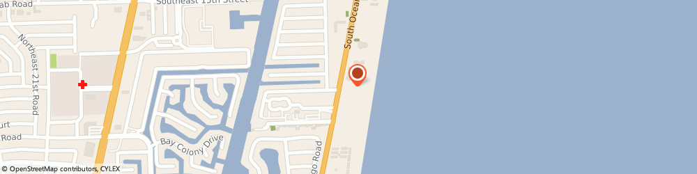 Route/map/directions to The Florida Printing Group Inc, 33062 Pompano Beach, 1850 South Ocean Boulevard