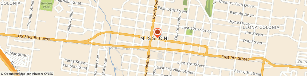 Route/map/directions to Budweiser Beer, 78572 Mission, 3900 NORTH MC COLL