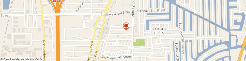 Route/map/directions to American Logo Wear, 33060 Pompano Beach, 100 SOUTHWEST 5TH STREET