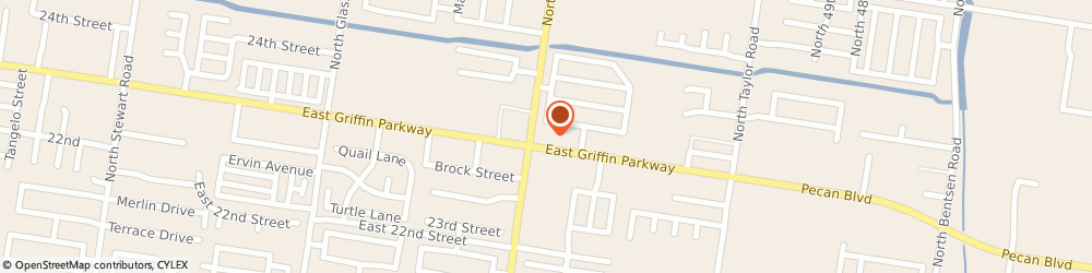 Route/map/directions to Ferrells Wine & Liquors, 78572 Mission, 2403 E Griffin Pkwy
