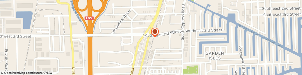 Route/map/directions to Avanti Limousine and Airport Transportation, 33060 Pompano Beach, 304 S Dixie Hwy E