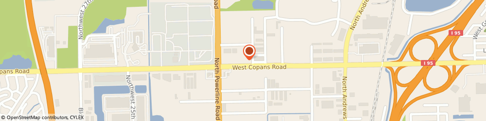 Route/map/directions to The Lion Press Inc., 33064 Pompano Beach, 1913 W Copans Road