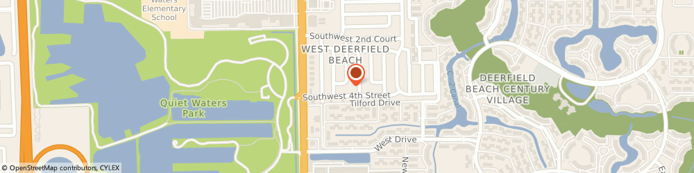 Route/map/directions to Just In Stitches, 33442 Deerfield Beach, 3400 Sw 3Rd Ct