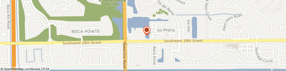 Route/map/directions to Rooms For A Prince And Princess, 33433 Boca Raton, 6859 SW 18th St