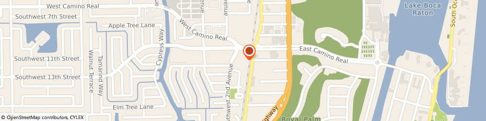 Route/map/directions to Cvs Pharmacy, 33432 Boca Raton, 150 W Camino Real
