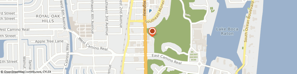 Route/map/directions to Citibank, 33432 Boca Raton, 700 S Federal Hwy