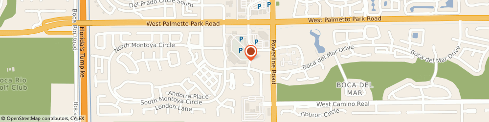 Route/map/directions to The UPS Store, 33433 Boca Raton, 7050 W Palmetto Park Rd