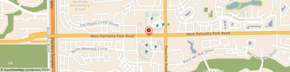 Route/map/directions to Citibank ATM, 33433 Boca Raton, 7060 W Palmetto Park Rd