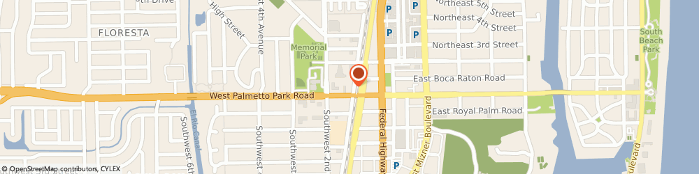 Route/map/directions to Citibank ATM, 33432 Boca Raton, 103 W Palmetto Park