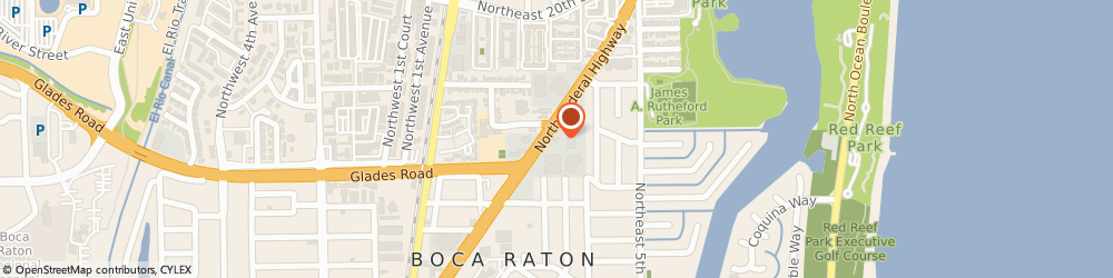Route/map/directions to Valero BOCA RATON, 33432 Boca Raton, 1380 N Federal Hwy