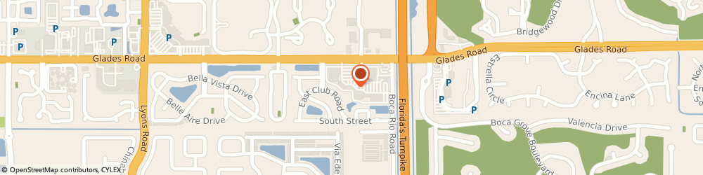 Route/map/directions to HONEY BAKED Boca Raton, 33434 Boca Raton, 8188 Glades Road