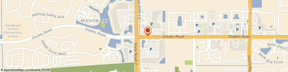 Route/map/directions to Citibank, 33434 Boca Raton, 9955 W. Glades Rd