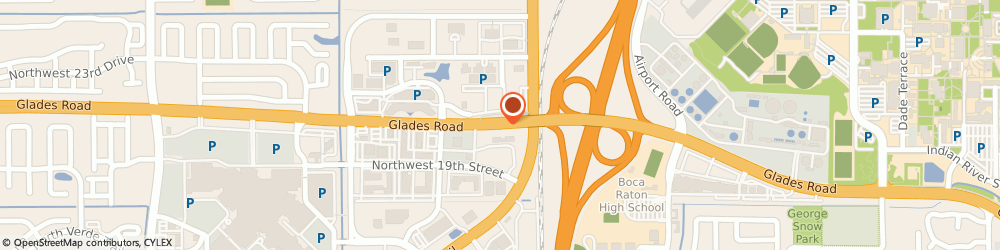 Route/map/directions to Charles Fabien, 33431 Boca Raton, 1900 Glades Rd, Ste 101