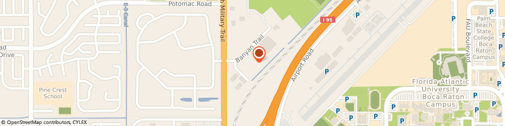 Route/map/directions to Post Office - Woodland, 33431 Boca Raton, 604 BANYAN TRAIL