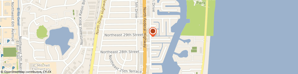 Route/map/directions to Charles Roussin: Allstate Insurance, 33431 Boca Raton, 2884 N Federal Hwy