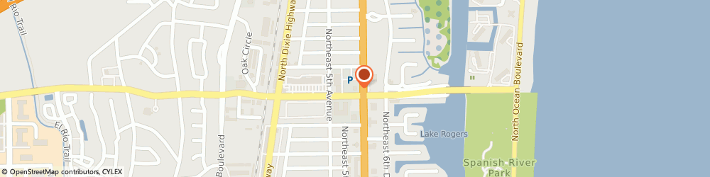 Route/map/directions to Citibank, 33431 Boca Raton, 4055 N. Federal Hwy