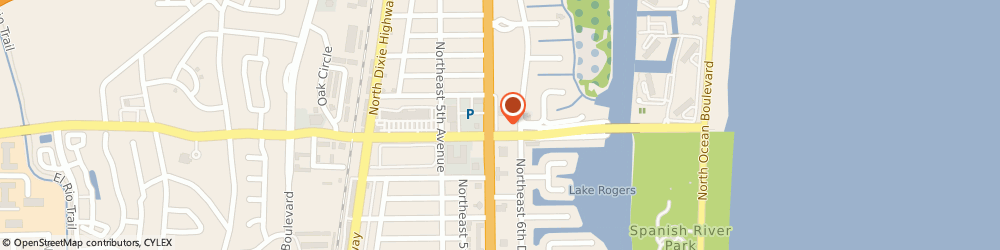Route/map/directions to Busy Body Gym To Go, 33431 Boca Raton, 625 NE SPANISH RIVER BLVD