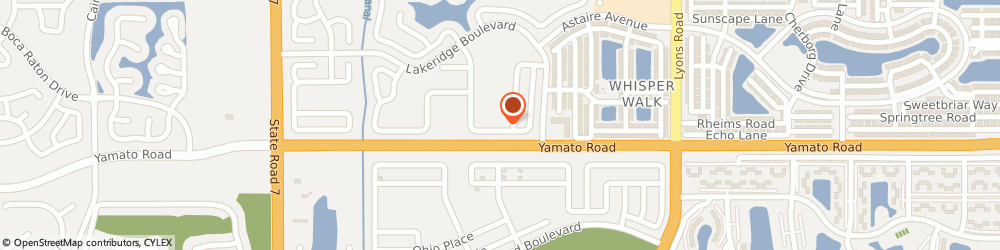 Route/map/directions to Accurate Video Svc, 33496 Boca Raton, 9453 Aegean Dr