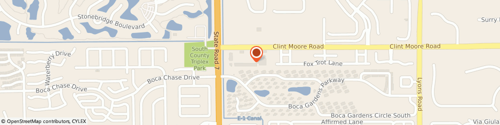 Route/map/directions to The UPS Store, 33496 Boca Raton, 9858 Clintmoore Rd