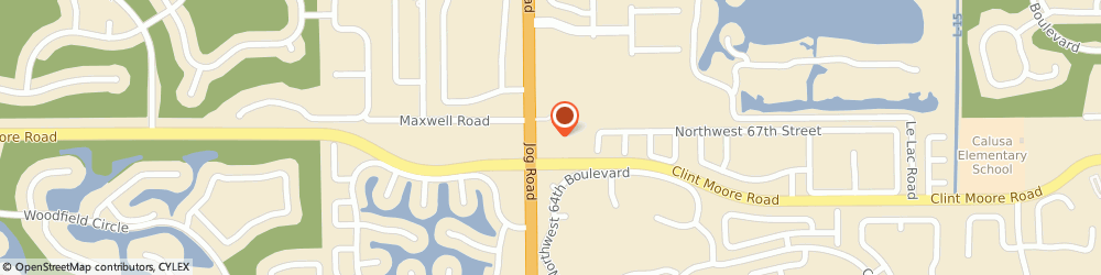 Route/map/directions to Cvs Pharmacy, 33496 Boca Raton, 2901 Clint Moore Rd.