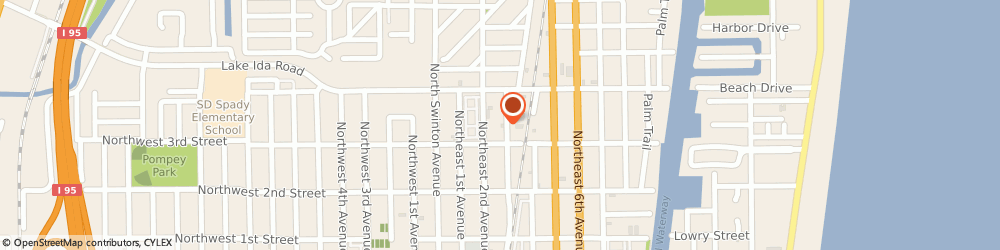 Route/map/directions to Kilbourne Heating & Air, 33444 Delray Beach, 334 NE 3rd Ave