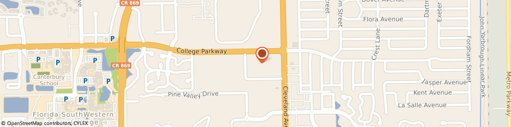 Route/map/directions to Office Depot, 33907 Fort Myers, 7091 College Pky