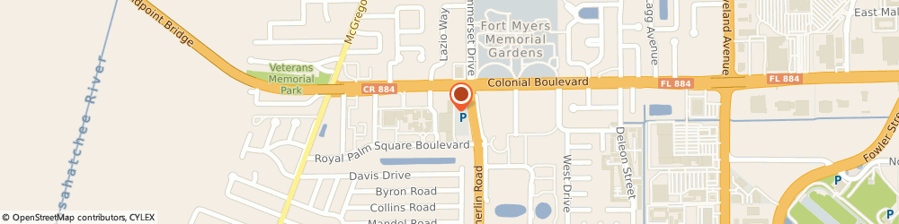 Route/map/directions to The UPS Store, 33919 Fort Myers, 4600 Summerlin Road