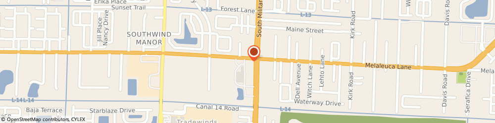 Route/map/directions to Citizens Bank ATM, 33463 Greenacres, Cumberland Farms, 4771 South Military Trail