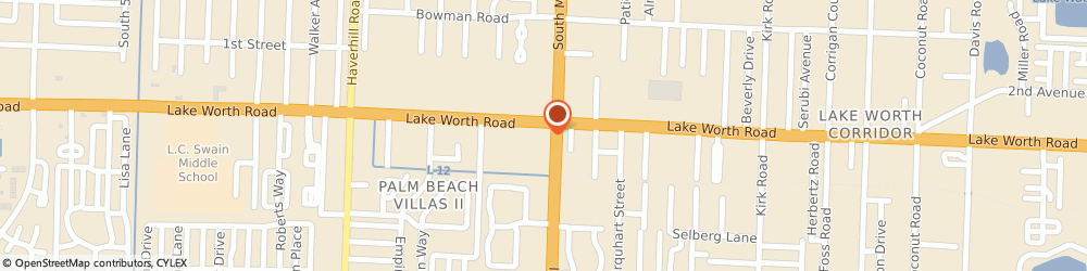 Route/map/directions to Navy Federal Credit Union ATM, 33463 Greenacres, 4025 S Military Trail