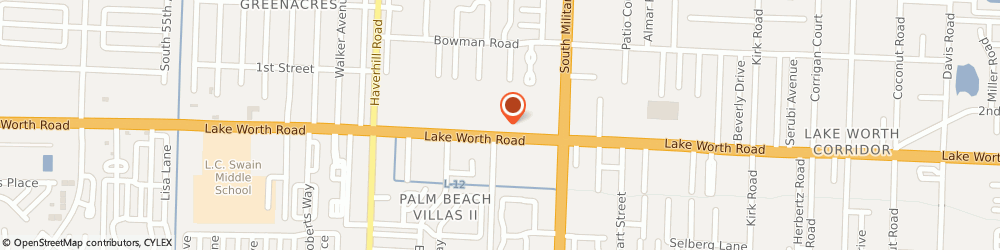 Route/map/directions to Liberty Tax Service Greenacres, 33463 Greenacres, 4653 Lake Worth Road