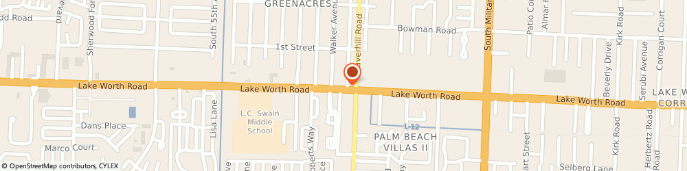 Route/map/directions to Hogan Gas Co, 33463 Greenacres, 101 Jackson Avenue