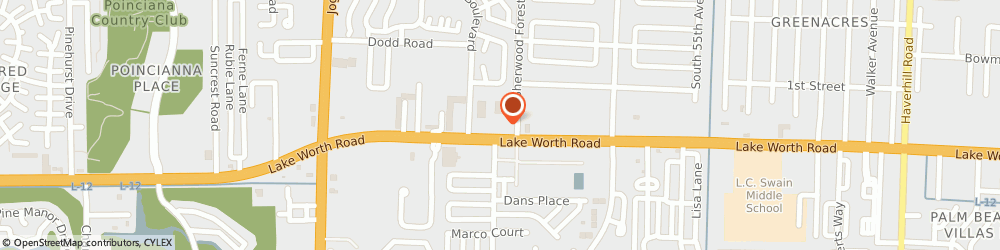 Route/map/directions to Navy Federal Credit Union ATM, 33463 Greenacres, 6025 Lake Worth Rd