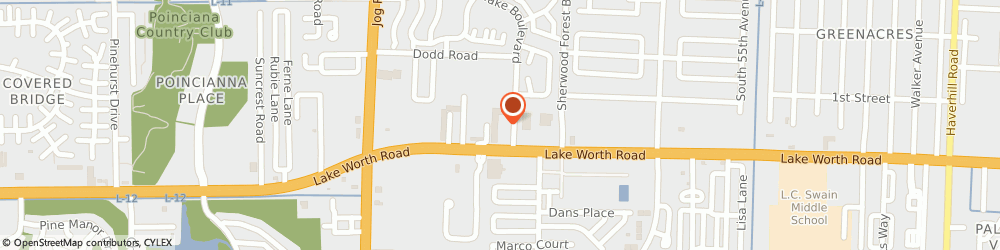 Route/map/directions to Third Federal Savings & Loan, 33463 Greenacres, 6125 Lake Worth Rd...