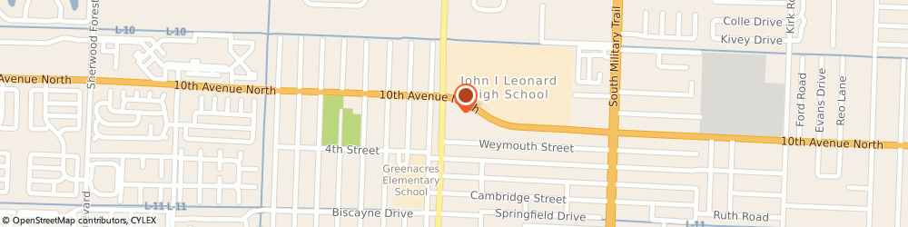 Route/map/directions to Navy Federal Credit Union ATM, 33463 Greenacres, 4998 10Th Ave N