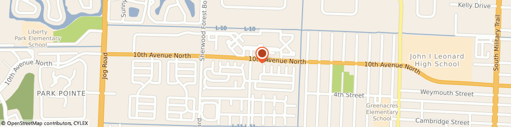 Route/map/directions to Circle K, 33463 Greenacres, 5730 10Th Ave N