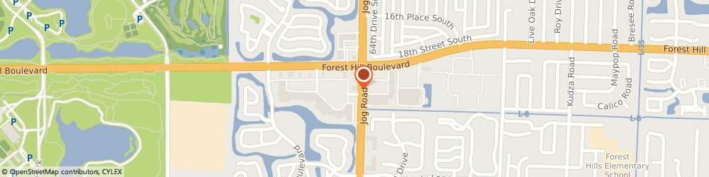 Route/map/directions to Navy Federal Credit Union ATM, 33413 Greenacres, 6790 Forest Hill Blvd