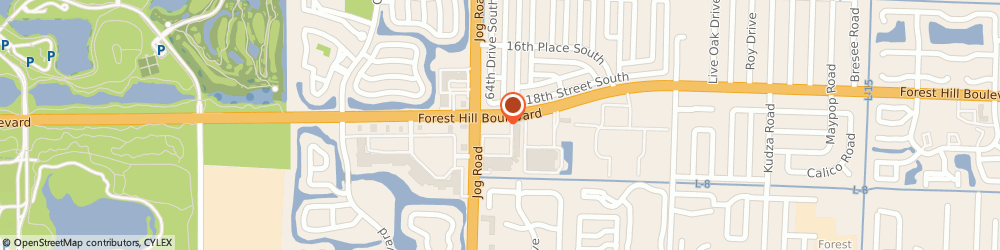 Route/map/directions to Navy Federal Credit Union, 33415 Greenacres, 6482 Forest Hill Blvd