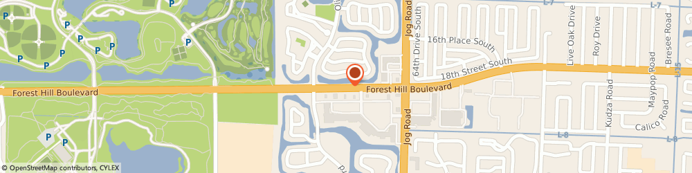 Route/map/directions to Navy Federal Credit Union ATM, 33413 Greenacres, 6691 Forest Hill Blvd
