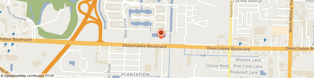 Route/map/directions to SalonCentric, 33417 West Palm Beach, 5601 Okeechobee Blvd, Suite A